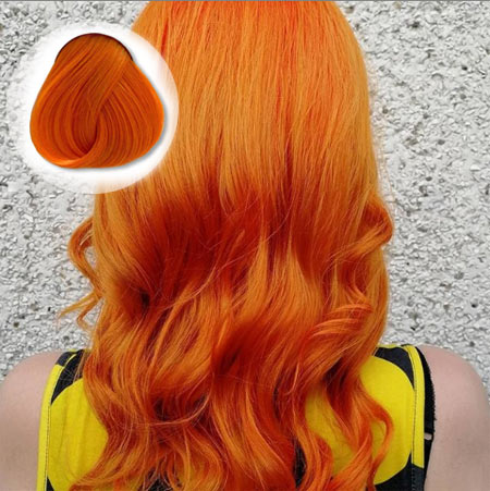 Apricot Hair Color
