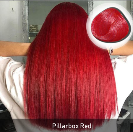 Pillarbox Red Hair Color