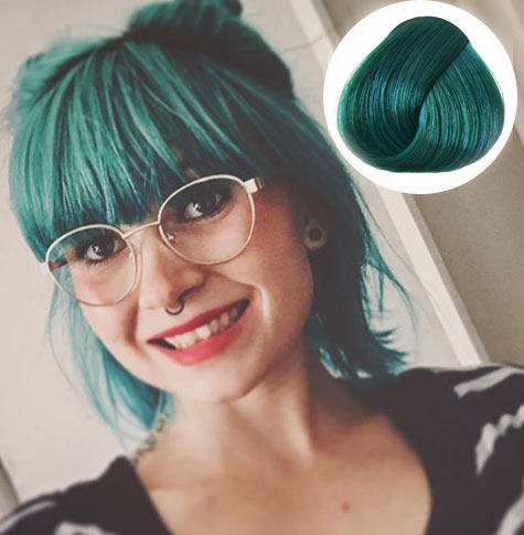 Alpine Green Hair Color