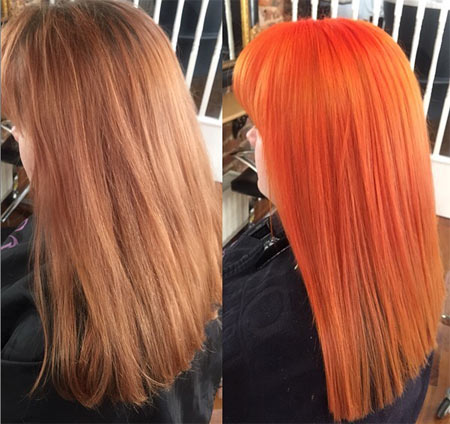 Mandarin Hair Color