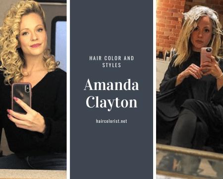 Amanda Clayton's 10 Attractive Hair Styles