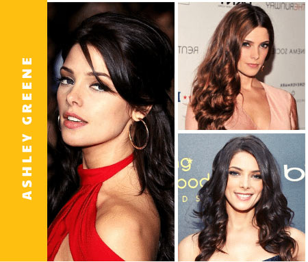 Hair Color of Ashley Greene