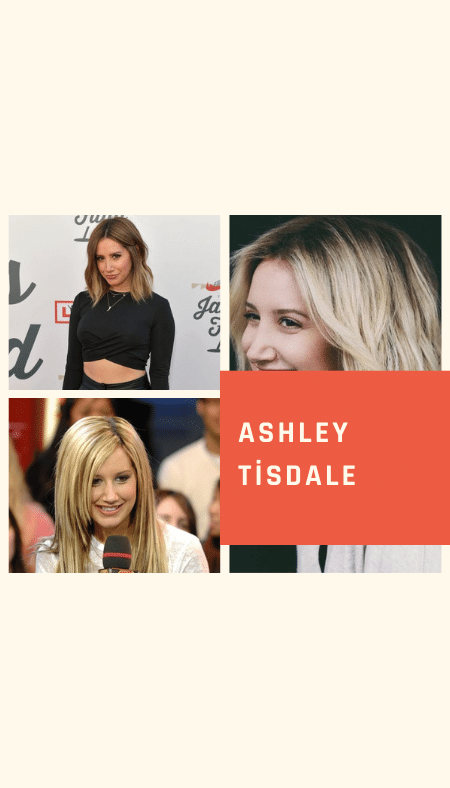Ashley Tisdale Hair Color and Style