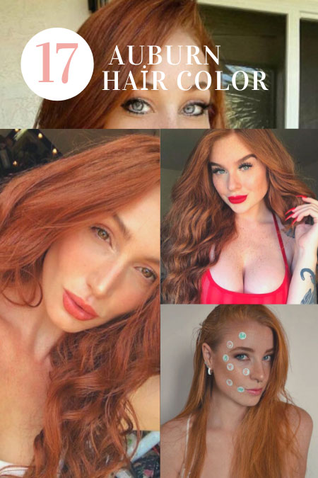 Amazing Beautylte 17 Auburn Hair Color and Home Coloring Tips