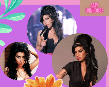Amy Winehouse's Best Beautiful 10 Hairstyles