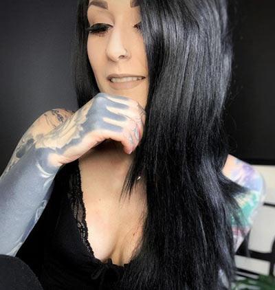 White Hair Color