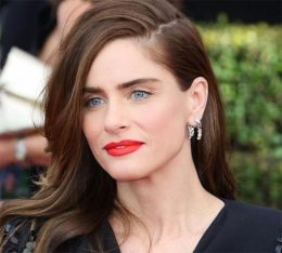 Amanda Peet Hair Color and Style
