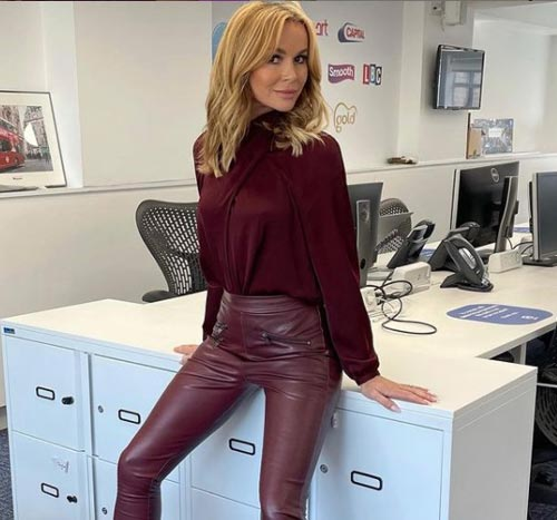 Amanda Holden Hair Style