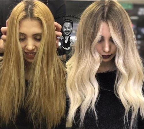 Blonde Hair That Goes Orange