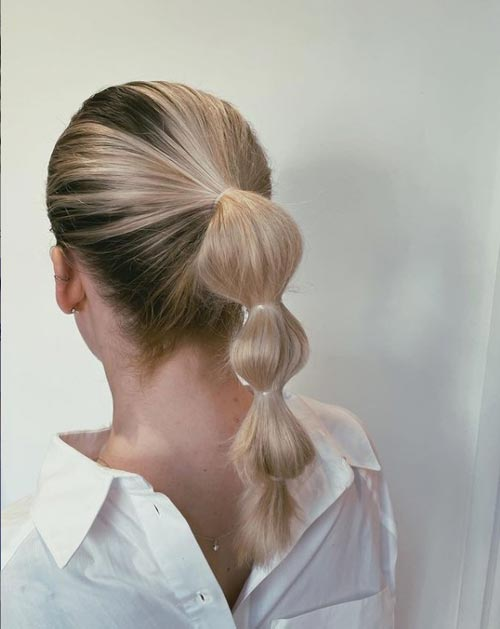 Bubble Braid Hairstyle