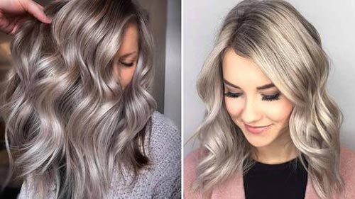 Ashy Blonde Hair Color