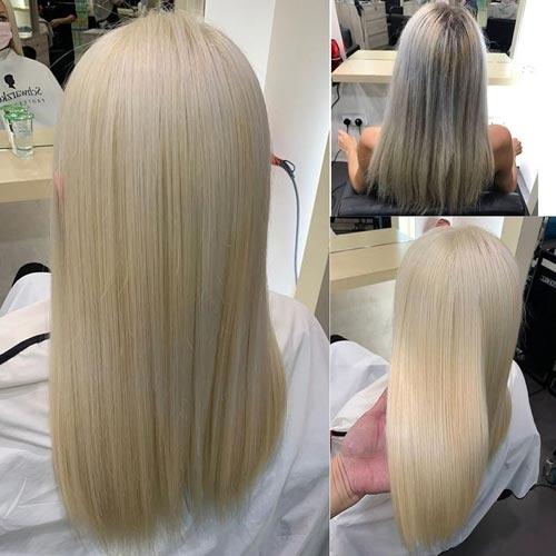 Hair Bleaching Process