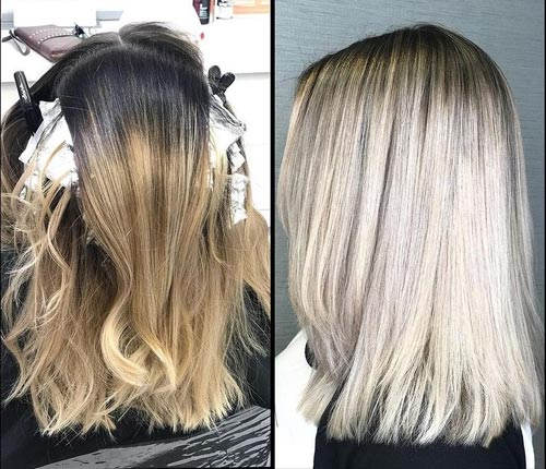 Platinum Blonde Bottom Dye