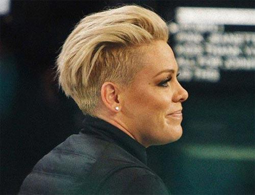 Alecia Beth Moore Hair