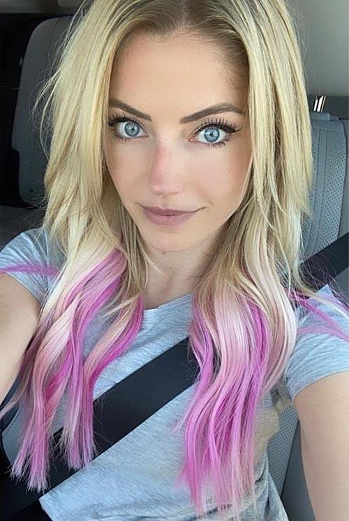 Alexa Bliss Hair