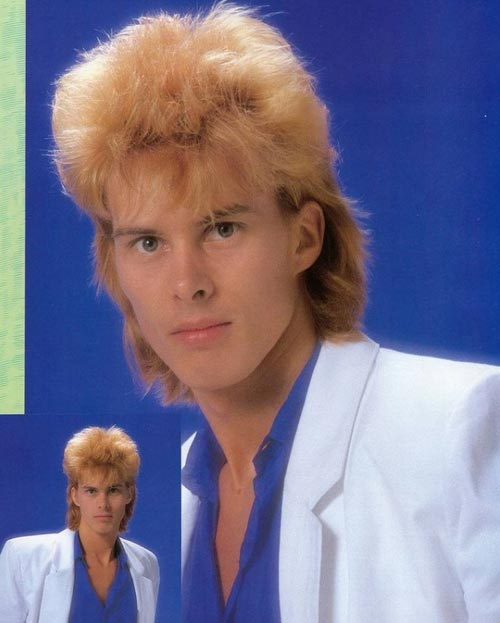 Mens Hairstyles of the 80s