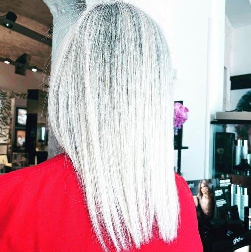 White Toner Hair Color